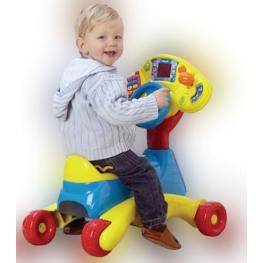 Качалка-каталка VTech с рулем Grow & Go Ride On
