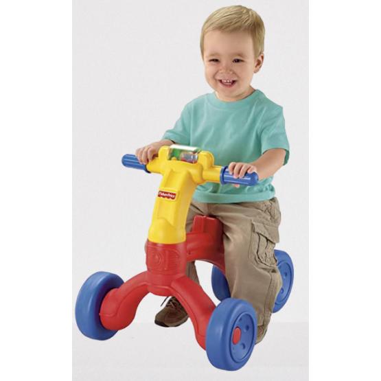 Беговел Самокат-толкатель Велосипед Fisher Price