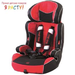 Автокресло Baby Car Grand Voyager (9-36 кг) красное