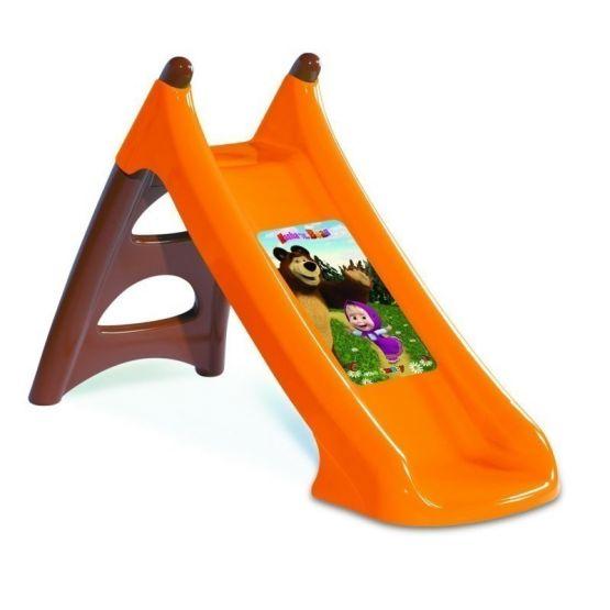 """Детская горка пластиковая """"Маша и медведь"""" (Smoby)"""