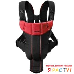 Рюкзак – кенгуру BABYBJORN Baby Carrier Active (черно красный)