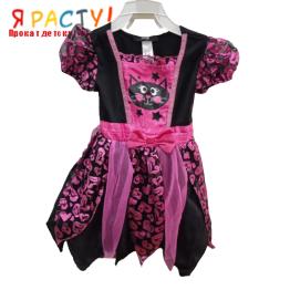 Платье с котенком (размер 81-98)