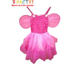 Костюм розовой феи (размер 98-110)