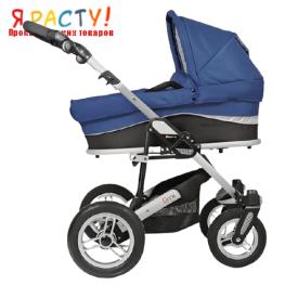 Детская коляска-люлька GTX 03 синяя (Espiro)