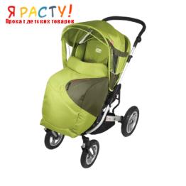 Детская прогулочная коляска GTX (Espiro) салатовая