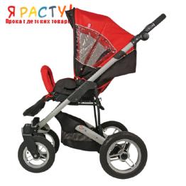 Детская прогулочная коляска GTX (Espiro) красная