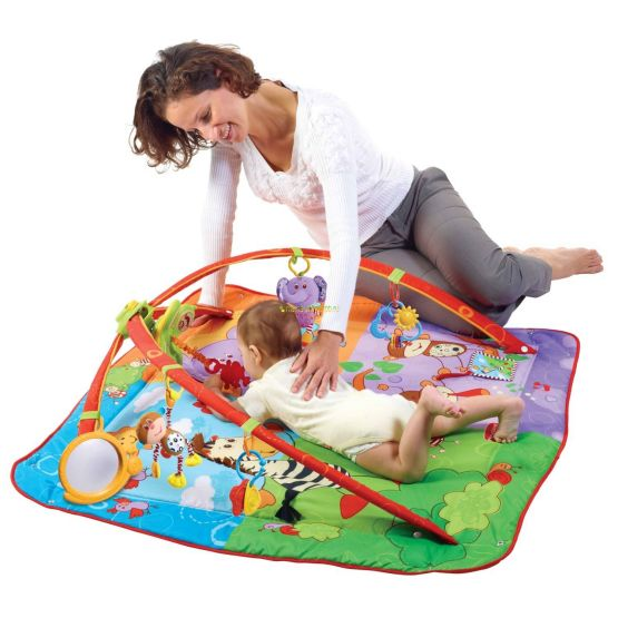 "Детский развивающий коврик ""Разноцветное сафари"" (Tiny Love)"