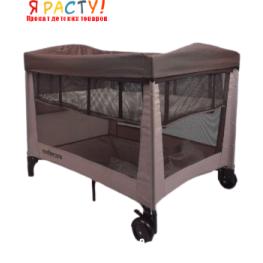 Манеж-кроватка Mothercare (2 уровня)