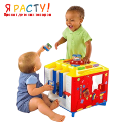Большой куб Incrediblock (Fisher Price)