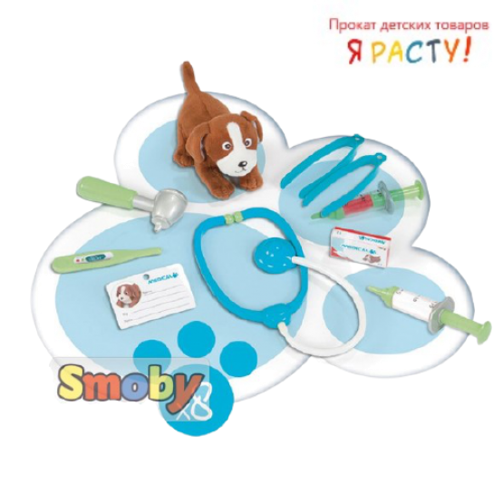 Тележка доктора-ветеринара (Smoby)