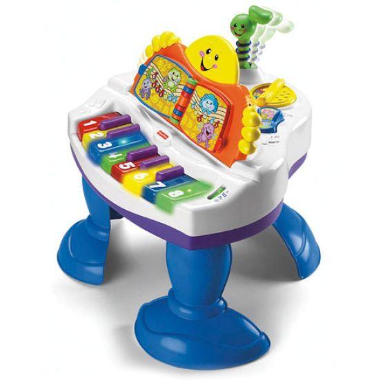 Музыкальный развивающий столик-пианино (Fisher-Price)