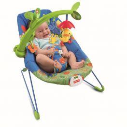 "Кресло-люлька для младенцев ""Весёлый утёнок"" (Fisher-Price)"
