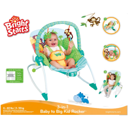 Детский шезлонг Зоопарк (Bright Starts)