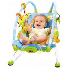 Вибрирующее кресло с дугами и игрушками Баунсер (Tiny Love)