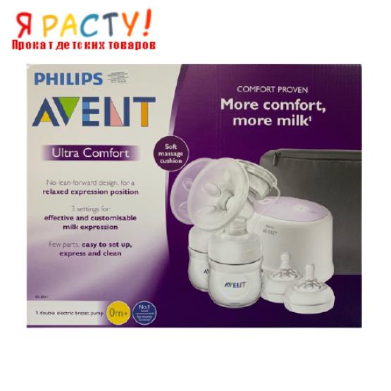 Двойной электронный молокоотсос Philips Avent Ultra Comfort Double SCF334/12