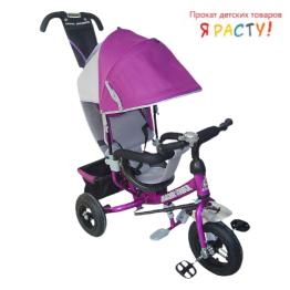 Велосипед детский Rich Toys Lexus Trike Racer Air фиолетовый