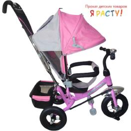 Велосипед детский Rich Toys Lexus Trike Racer Air розовый